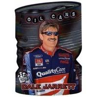 DALE JARRETT 1999 Press Pass Oil Cans Die Cut UPS ESPN ABC Winston Cup Champion