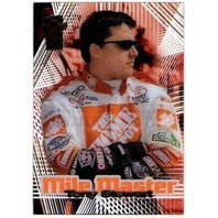 TONY STEWART 2001 Press Pass VIP Mile Master Transparent parallel insert card