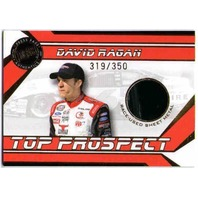 DAVID RAGAN 2007 Press Pass Top Prospect Rookie Race-Used Sheet Metal Card /350