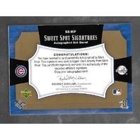 MARK PRIOR 2005 Upper Deck Sweet Spot Signatures auto bat piece /15