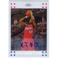 AL THORNTON Topps Chrome White Refractor Rookie Autograph Auto Card 7/10