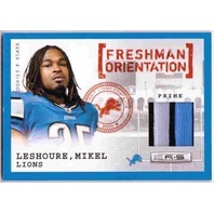 MIKEL LESHOURE 2011 Rookies Stars Freshman Orientation Jersey 20/50 Patch Card