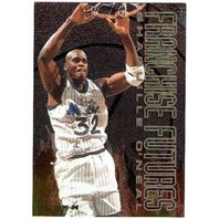 SHAQUILLE O'NEAL 1995-96 Fleer Franchise Futures #7 Insert Card 95/96 BV$12