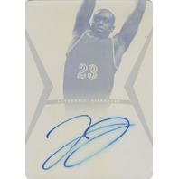 JOHN JENKINS 2012-13 Leaf Ultimate Printing Plate 1/1 Autograph Auto On Card  (x)