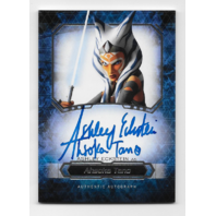 Ashley Eckstein Ahsoka Tano Topps Star Wars Masterwork Autograph card