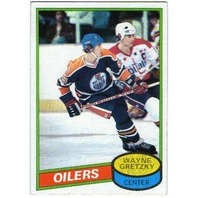 WAYNE GRETZKY Topps Card #250 1980-81 80/81 Oilers