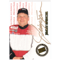 JIMMY SPENCER 1999 Press Pass Signings Gold Autograph On Card Auto 44/110