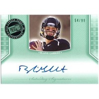 BLAINE GABBERT 2011 Press Pass Legends Rookie Emerald Card 54/99 Auto On Card