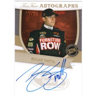 REGAN SMITH 2012 Press Pass FanFare Autographs Auto Card 38/99 Furniture Row