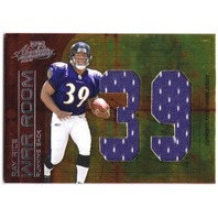 RAY RICE 2008 Absolute Memorabilia War Room Oversize Rookie Jersey Number 2/25