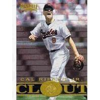 CAL RIPKEN JR. 1997 Pinnacle Museum Collection Clout Insert Card #191 BV$30