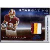 MALCOLM KELLY 2008 Absolute Memorabilia Star Gazing Prime Jersey Patch 7/50 Card