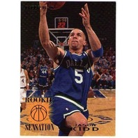 JASON KIDD 1995-96 Fleer Rookie Sensations Golden Bears Mavericks Nets Suns