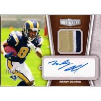 MARDY GILYARD 2010 Topps Unrivaled Rookie Prime Patch Auto Jersey Card 18/349  (x)