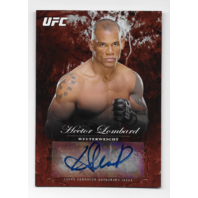 HECTOR LOMBARD 2014 UFC Topps Bloodlines auto /8 blue autograph