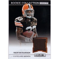 TRENT RICHARDSON 2012 Rookies and & Stars Rookie Collection Jersey Card #9