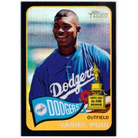 YASIEL PUIG 2014 Topps Heritage Chrome Black Refractor /65 Card 426 Parallel  (x)