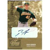 RICH HARDEN 2005 Century Signature Post Marks Gold 12/50 Auto Card