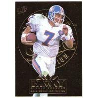 JOHN ELWAY 1995 Fleer Ultra Gold Medallion Parallel Card #91 BV$20