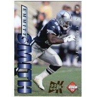 EMMITT SMITH 1995 Collector's Edge 22K Gold #56 Insert Parallel Card 332/500