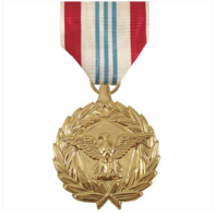 Vanguard Full Size Defense Meritorious Service (DMSM) Military Medal Award-24K Gold Plated
