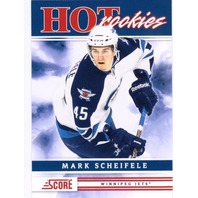 MARK SCHEIFELE 2011-12 Score Hot Rookie SP Card RC Short Print Winnipeg Jets