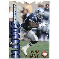 EMMITT SMITH 1995 Collector's Edge 22K Gold Die-Cut Parallel Card /500