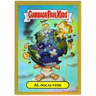 AL POCALYPSE 2013 Garbage Pail Kids Chrome Series One Gold Refractors #L6b PR50