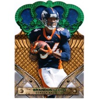 BRANDON LLOYD 2011 Crown Royale Green 2/10 Parallel Card 49ERS PATRIOTS BEARS