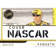 MATT KENSETH 2007 Press Pass Eclipse Under Cover Car Card 264/270 DeWalt Roush