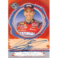 GREG BIFFLE 2006 Wheels Autographs #4 Nextel Cup Series Autograph Auto On Card
