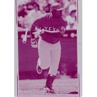 Carlos Lee 2007 Upper Deck Series One Magenta Printing Plate 1/1 Card #224
