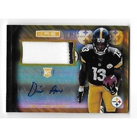 DRI ARCHER 2014 Rookies & Stars Longevity Team Logo RC Auto /32 R&S Steelers