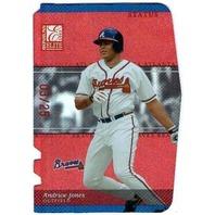 ANDRUW JONES 2003 Donruss Elite Status #88 Die Cut Card 3/25 Braves Yankees