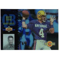 BRETT FAVRE 1994 Upper Deck Pro Bowl #PB9 Insert Hologram Card