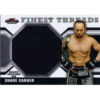 SHANE CARWIN 2011 Topps UFC Finest Threads Jumbo Fighter Relics Worn Match Gear