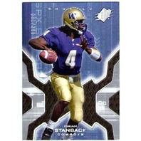 ISAIAH STANBACK 2007 SPx Silver Holofoil Rookie Card /299 Seahawks Cowboys Giant