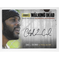 Tyreese Williams 2016 Cryptozoic Walking Dead season 4 auto Card CLC2 Autograph