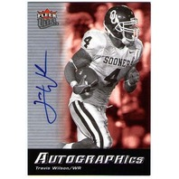 TRAVIS WILSON 2006 Fleer Ultra Signature Rookie Card Auto SOONERS #ULTR