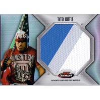 TITO ORTIZ 2012 Topps Finest UFC Jumbo Fight Mat Relics #FFJMTO THREE COLOR