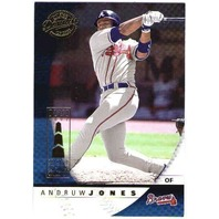 ANDRUW JONES Donruss Class of 2001 Chicago Sun Times Collection Card 2/5 Braves