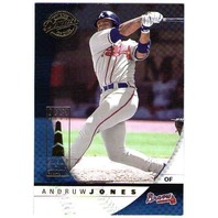 ANDRUW JONES Donruss Class of 2001 Chicago Sun Times Collection Card 3/5 Braves