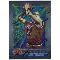 JUWAN HOWARD 1994-95 94/95 Topps Finest Chrome Rookie Card #288 RC Bullets