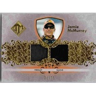 JAMIE McMURRAY 2012 Press Pass Total Memorabilia Race Firesuit Glove Card 29/75