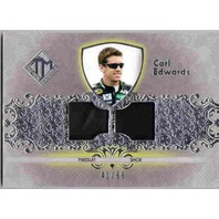 CARL EDWARDS 2011 Press Pass Total Memorabilia Race Firesuit and Shoe Card 41/99