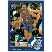 JASON KIDD Topps Chrome Refractor 2002-03 Parallel Card #18