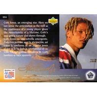 COBI JONES 1994 Upper Deck World Cup Walter Ioos Edition Card #WI4 U.S. Team