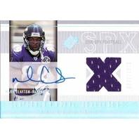 MARK CLAYTON 2005 SPX Rookie Autograph Jersey Card RC Auto /1275 Ravens  (x)