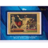 HANLEY RAMIREZ 2012 Topps Silk Collection #18 Framed Mini Series 1 Card 20/50