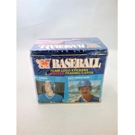 1987 Fleer Baseball Blue Tin Traded Factory Set Sealed